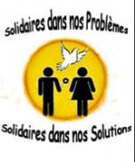 logo projet : Solidaires dans nos problemes, solidaires dans nos solutions