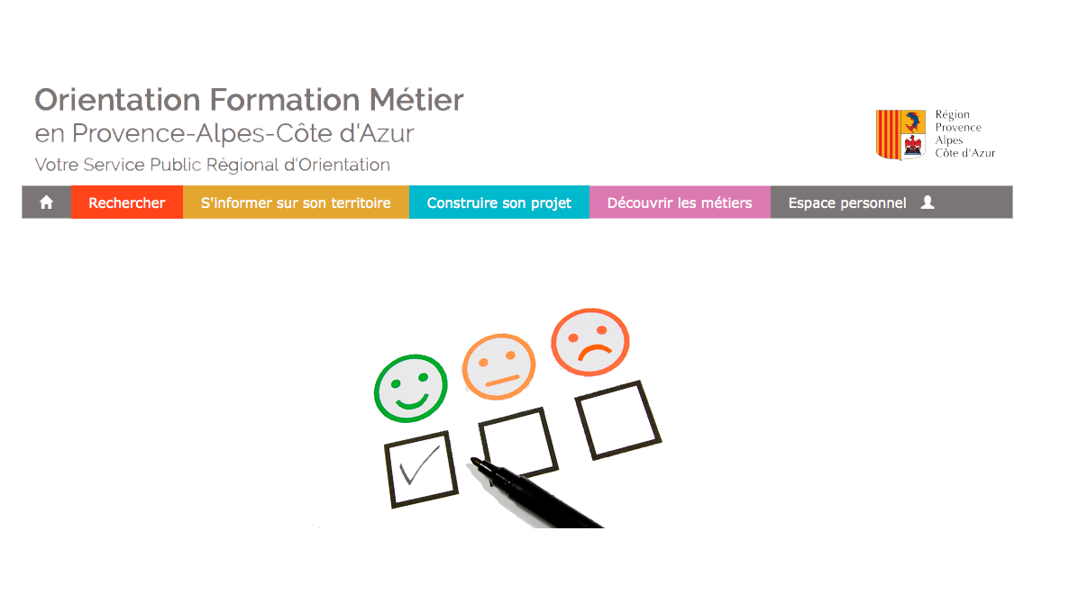 QUESTIONNAIRE SATISFACTION DU SITE WWW.ORIENTATIONPACA.FR
